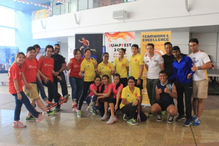 Thank you Bata Singapore, Power Shoes, Team Activo, Team SkipFit and ITE College East for making the event a success!